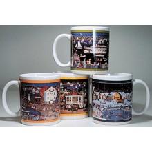 Carol Dyer's Four Seasons Mugs
