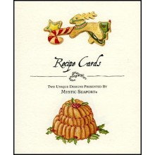 Christmas Pudding Recipe Cards