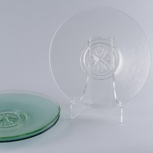 Clear Compass Rose Platter
