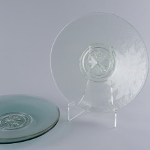 **NEW** Lt Green Compass Rose Platter
