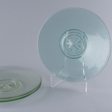 Teal Compass Rose Platter
