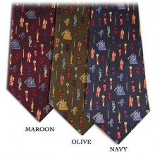 Enos Nautical Icon Tie