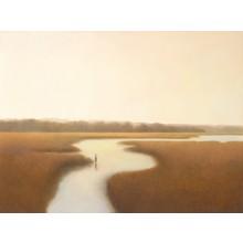 1040406 HERON'S LIGHT s/n Giclee on Canvas
