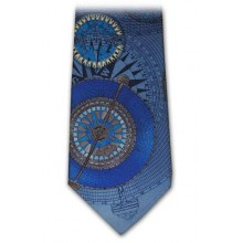 Large Compass Rose Tie