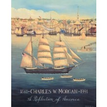 1007664 CHARLES W. MORGAN SIGNED Poster
