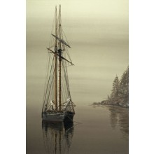 1039667 SAFE ANCHORAGE s/n Giclee on Canvas