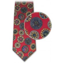 Small Compass Rose Tie