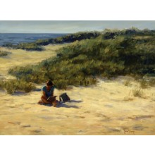 1039672 THE QUIET HOUR s/n Giclee on Canvas