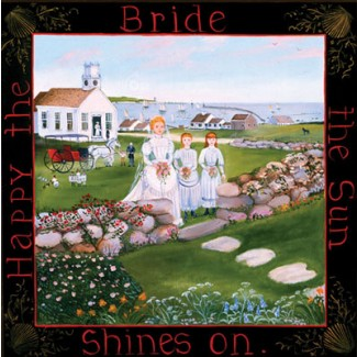 1007415 HAPPY THE BRIDE Lithograph s/n