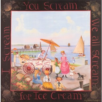 1007417 I SCREAM - ICECREAM (YOU SCREAM) Lithograph s/n