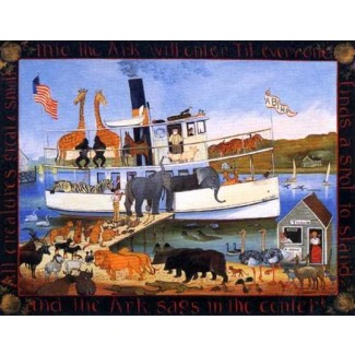 1007422 SABINO AS THE ARK Lithograph s/n