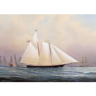 SCHOONER, 1851