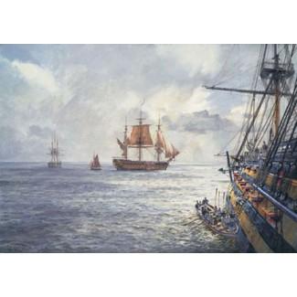 HMS DUKE WILLIAM, Coming Aboard