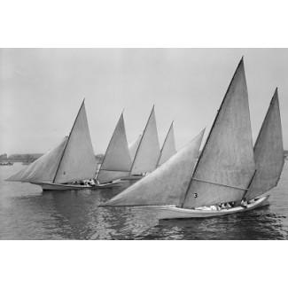 Chesapeake Bay Log Canoes, 1926