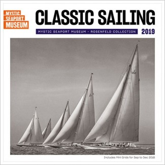 2019 Classic Sailing Wall Calendar