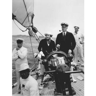 On Board ENDEAVOR, 1937
