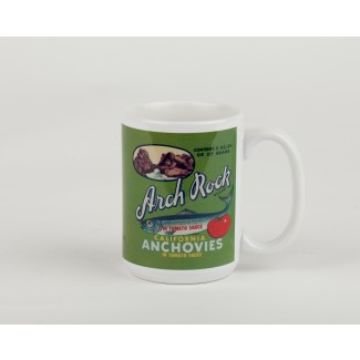 Seafood Label Mug - Anchovies