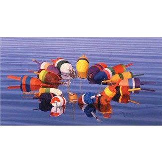 Buoys III by John Atwater