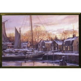 Christmas Dawn at Mystic Seaport