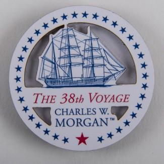 38th Voyage Round Magnet