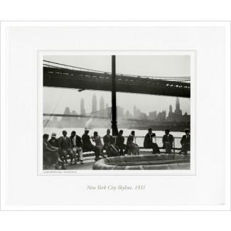 New York Skyline, 1931