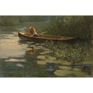 1040567 ON QUIET WATERS s/n Giclee on Canvas
