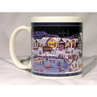 Carol Dyer Winter Mug #1008868