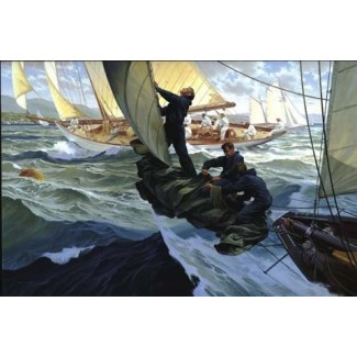 1029076 Drop Sail at the Mark  G/P s/n