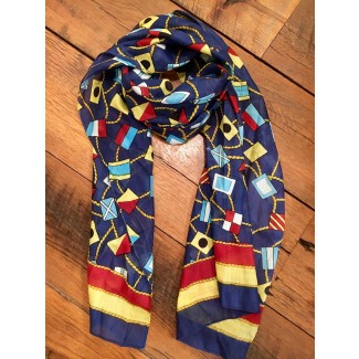 Nautical Flag Scarf