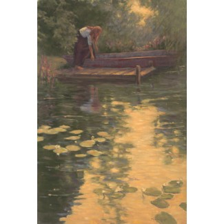 1039678 SUMMER DAWN s/n Giclee on Canvas