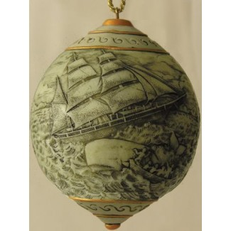 SCRIMSHAW ORNAMENTS: MORGAN RETURNS