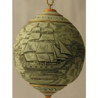 Scrimshaw Ornaments: Morgan Returns