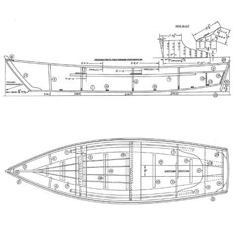 Amesbury skiff