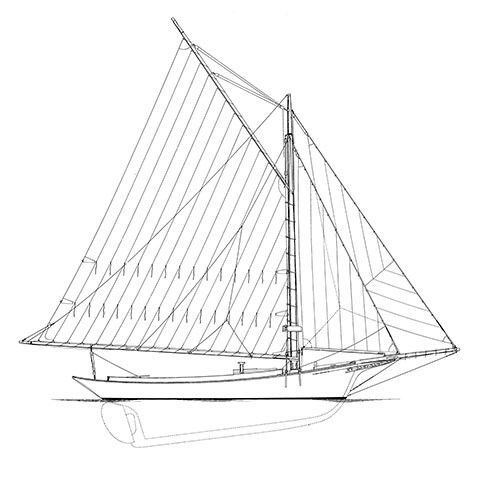 ESTELLA A., Friendship Sloop