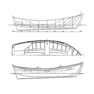 """10' 6"""" New England Yawlboat"""