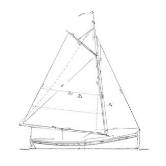 Concordia Sloopboat Gaff Rig