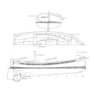 15' Motor Yawl Boat