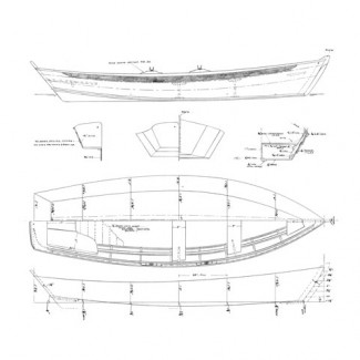 14' Rowing Skiff