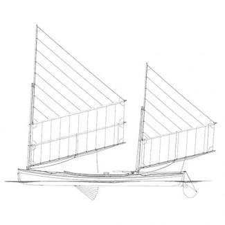 ARGONAUT, Sailing Canoe Rushton Vesper Model