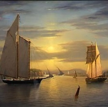 William Davis: Last Light on the Hudson