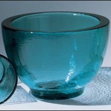Glass bowls and tumblers